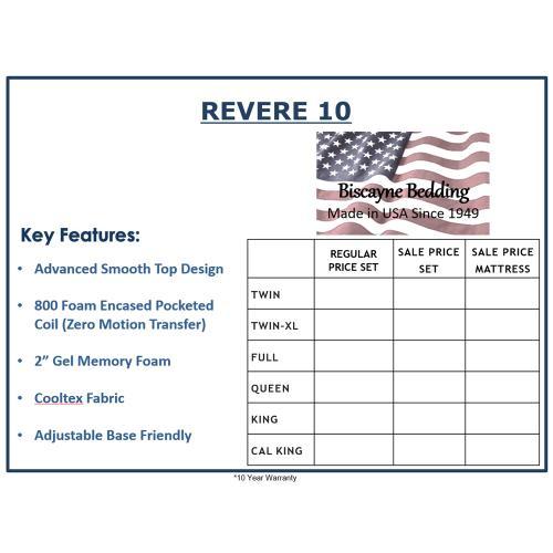 Biscayne Bedding - Revere 10