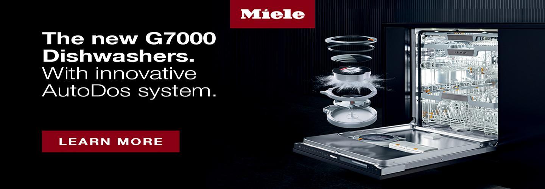 New Miele G7000 Series Dishwashers