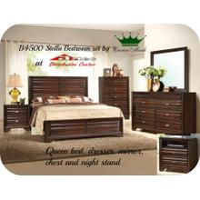 Crown mark B4500 Stella Bedroom Set Houston Texas USA Aztec Furniture