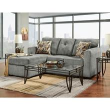 See Details - Kelly Gray Sofa Chaise