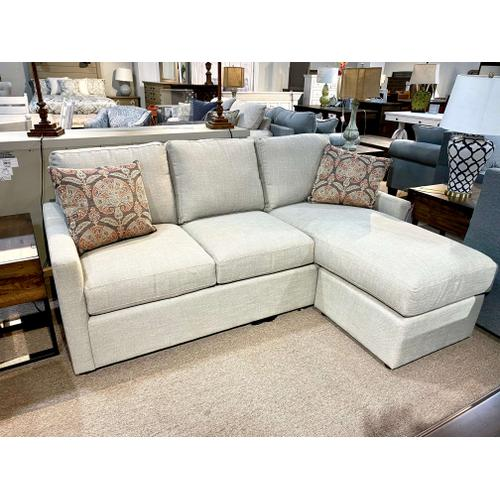 Memory Foam Sofa with Moveable Chaise