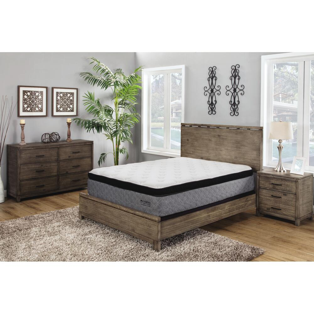 Reflection Hybrid Plush Mattress Set