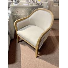 View Product - Wood Frame Accent Chair