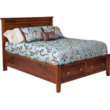Hyland Park Collection- Panel Bed