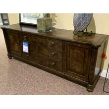 Barrington Wood TV Cabinet