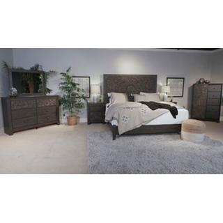 Paxberry Queen Bed w/ Rail