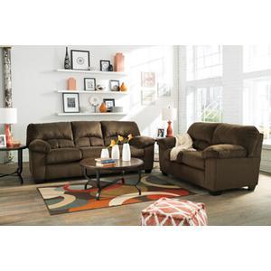 Dailey- Chocolate Sofa and Loveseat
