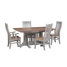 Double Thick Top Dining Set