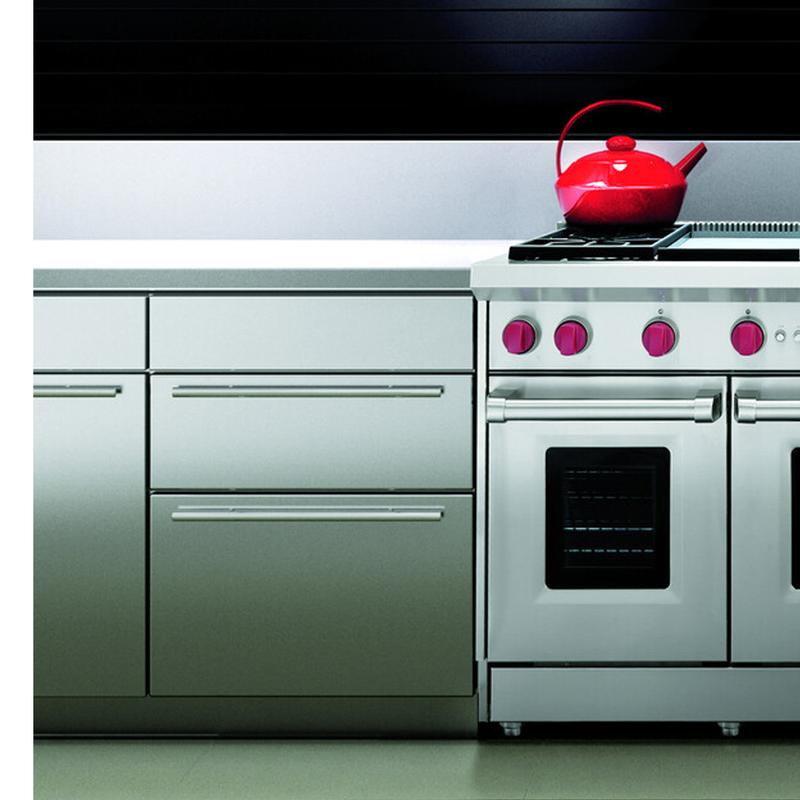48'' Gas Range - 6 Burners and Infrared Griddle