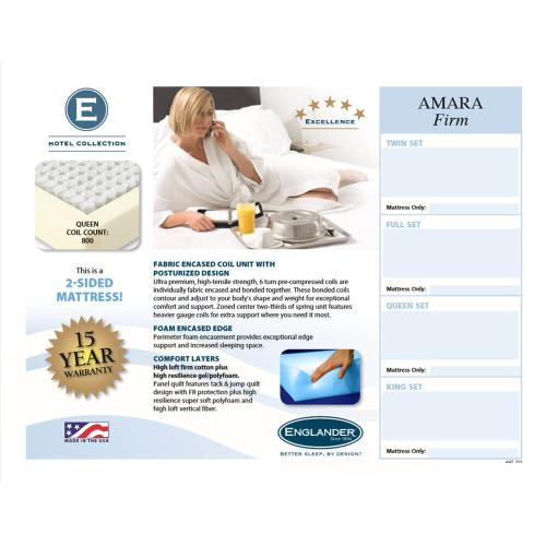 Hotel Collection - Amara - Firm