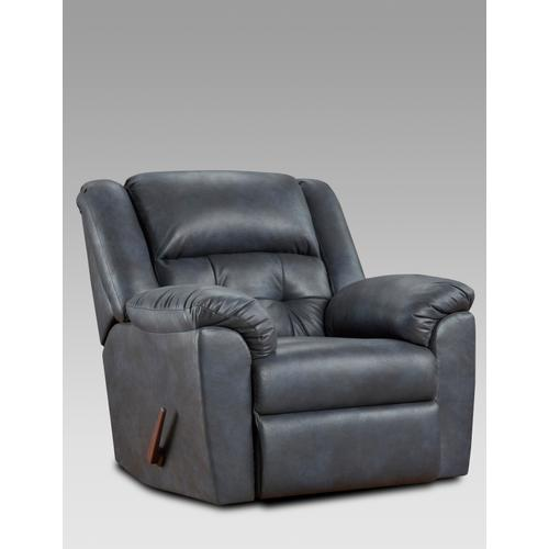 Telluride Indigo PWR 2PC Set: Sofa & Loveseat (1500)