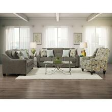 3450 Collin Platinum Sofa and Loveseat