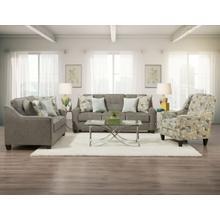 3450 Collin Platinum Sofa and Loveseat
