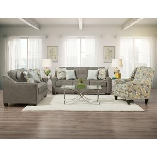 See Details - 3450 Collin Platinum Sofa and Loveseat