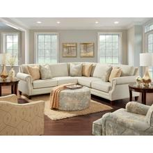 IT2531-21LR/15C  Sectional and 2 Chairs - Intention Taupe