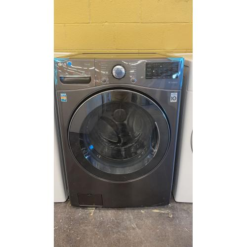Treviño Appliance - LG Black Steel Ultra Large Capacity Electric All-in-One Washer Dryer Combo