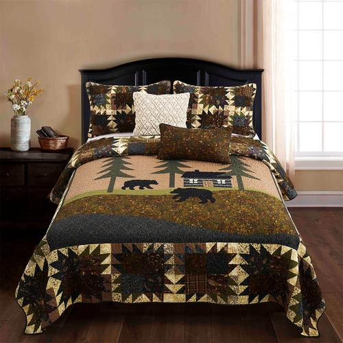 Mountain Lodge Full/Queen Quilt Set