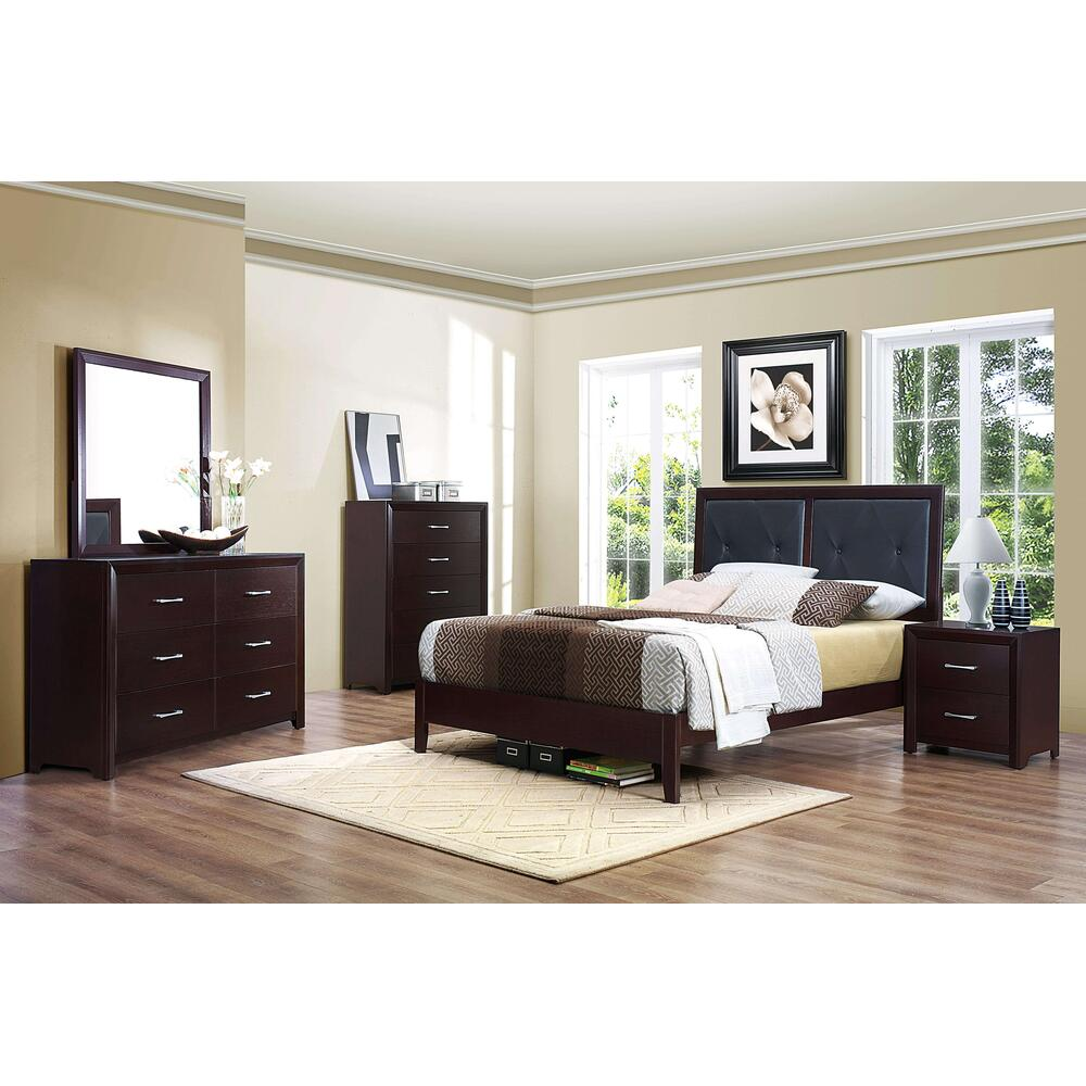 Edina 4Pc Full Bed Set