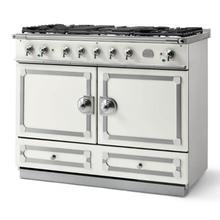 Pure White Cornufe 110 with Polished Chrome Accents