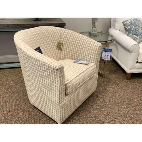 Barrel Swivel Chair - Customizable