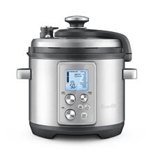 Breville Fast-Slow Pro Multi Function Cooker, Brushed Stainless Steel