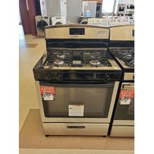 See Details - 30-inch Gas Range with Easy Touch Electronic Controls - Stainless Steel