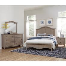 Cottage Retreat  Driftwood 6pc Queen Bedroom Set