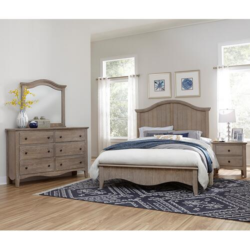 Packages - Cottage Retreat  Driftwood 6pc Queen Bedroom Set