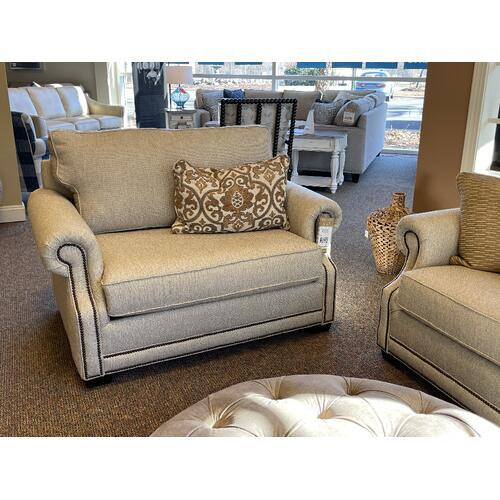 Mayo Furniture - 'Zenite Jute' Sofa Style# 4700F10 with Nailhead Trim