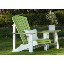 See Details - Adirondack chair with side table