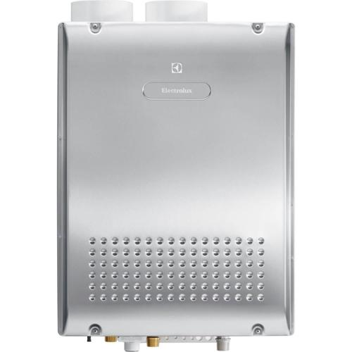 Product Image - Electrolux EN18WI30LS Energy Star Natural Gas Tankless Water Heater, Stainless Steel