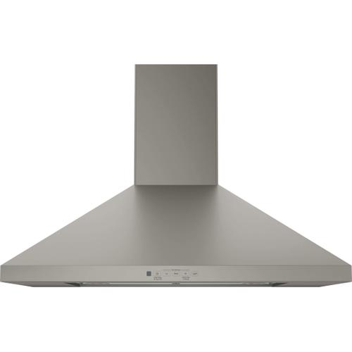 "GE 30"" Slate Chimney Hood Venthood with Recirculating Option"
