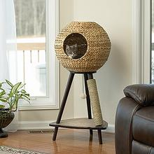 See Details - Natural Sphere Cat Tower
