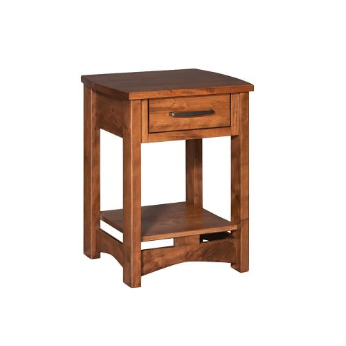 Homestead - 1 Drawer Nightstand