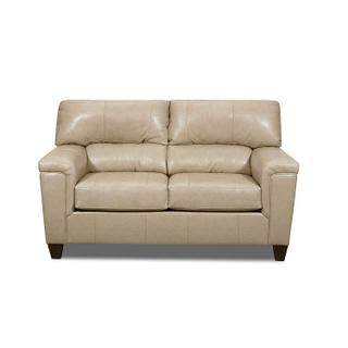 Verona Leather Loveseat