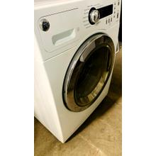 Product Image - USED- GE® 2.2 cu. ft. Front Load Washer and Electric Dryer SET - FLDRYE24WH-U  SERIAL #4  FLWAS24WH-U SERIAL #6