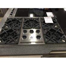 """36"""" Drop-In Gas Cooktop - Stainless Steel"""