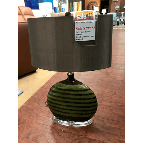 Interlude - Ozark Ceramic Lamp