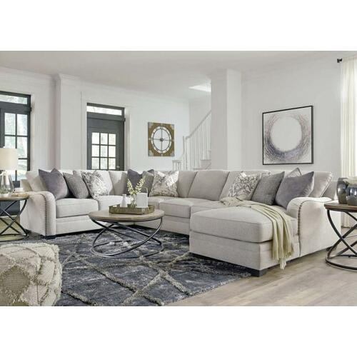 Raf Corner Chaise Armless Loveseat, Ashley Furniture Henderson