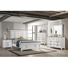 LIFESTYLE C8309A-045 C8309A-050 C8309A-Q48 C8309A-BXN Wittville 3-Piece Bedroom Group - Queen Bed, Dresser & Mirror