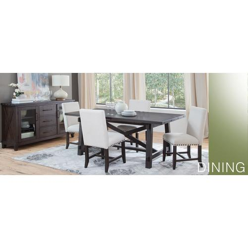 Sunny Designs - Dinning Table with 6 Chairs