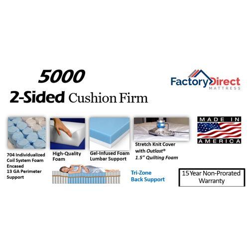 Factory Direct Mattress - 5000 - Firm