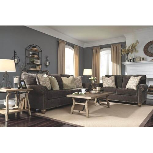 Ashley 806 Stracelon Sable Sofa and Love