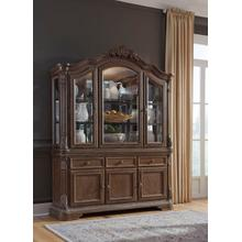 See Details - Charmond Lighted China Cabinet