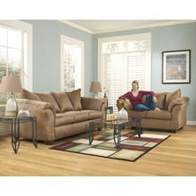 Darcy Stone Mocha & Loveseat Set