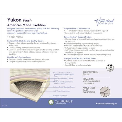 Corsicana - Homestead Collection - Yukon - Plush