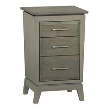 WHITTIER WOOD 2115AST  AST Ellison Small 3 Drawer Nightstand