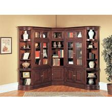 Sterling Library Corner Bookcase