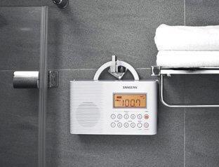 H-201  Shower Radio     FM / AM / Weather Alert Waterproof
