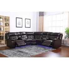 See Details - Amazon Brown - Power Reclining Sectional